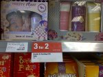 Bayliss & Harding gift sets reduced by 75% and 3 for 2, starting at £1.50 at Co-op