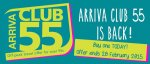 Arriva train Club 55 deal