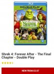 Larger imageView videoShrek 4: Forever After - The Final Chapter - Double Play (Blu-ray) £2.67 @ Play /  zoverstocks