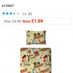 Smyths toys - jake and the never land pirates junior bedding £1.99!!!