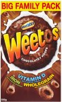 weetos chocolate cereal £1 Poundstretcher