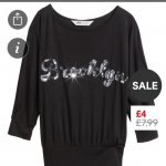 Beautiful H&M girls top - £2 (£3.90 P&P)