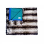 WIN A £425 HANDMADE LUXURY FAUX FUR THROW FROM WOLF & BADGER @ Stylist