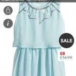 Sequined girls dress - £4 @ H&M! Possible free p&p if you spend £6 or £3.90 Delivery