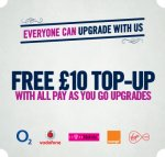 Nokia 105 with Free £10 topup - £0.99 @ CPW Payg Upgrades