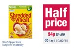 Shredded Wheat 94p at Co-op