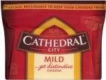 Cathedral City Mild Cheddar (350g) was £4.48 now £1.97 (£5.63 a Kilo) (Rollback Deal) @ Asda