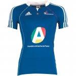 adidas Womens FFHB France Handball Home Shirt Coral Blue £4.49  plus £3.99 P&P @ mandmdirect