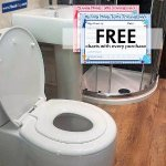 Toilet Seat for all the family even lower at £14.50 at Amazon Sold by Plumbtap