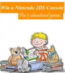 Win a Nintendo 2DS Console + 3 Educational Games @ Gurgle