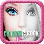 Coloring Book for Barbie - Children's Favourite Character Electronic Colouring Book for iPad & iPhone FREE @ iTunes (Usually 79p)