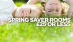 Travelodge Spring saver rooms (approx 130,000 rooms) at £25 or less for stays 01 March 2015 up to 31 May 2015 (excludes London hotels) + Extra 10% Off with discount code