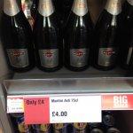Martini Asti £4 in Co-op