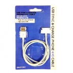 Iphone 3 and 4 USB Charger cable/iphone covers 99p @ 99p Stores