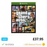 GTA V (Five) Xbox One £37.95 @ TheGameCollection