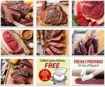 10 x 21 Day Matured 6-7oz Grass Fed Rump Steaks £29.99 @ westingourmet