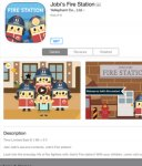 Free iOS Jobi's Fire Station RRP $1.99