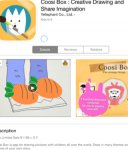 iOS free Coosi Box : Creative Drawing and Share Imagination RRP $1.99