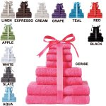 Kingsley 8-Piece Towel Bale for £6.60 + Plus £4.99 delivery @ 24Studio