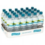 Aqua Pura Still Natural Mineral Water 24pack 500ml for £3.50 in asda