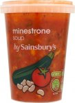 Sainsbury's Soup (600g) was £1.40 (New low price) Offer Price £1.00 @ Sainsbury's