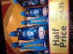 Lucozade sport 4 pack  £1.75 instore @ Tesco