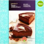 Taste the Difference Belgian Chocolate Cheesecake (500g) was £3.00 now £1.50 (FROZEN)  @ Sainsbury's