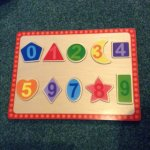 Wooden puzzle £1 primark
