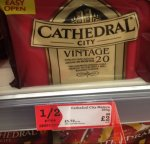 Cathedral cheese 350gm £2.00 @ Morrisons