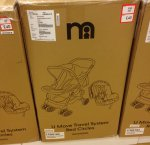 Mothercare U Move Pushchair Travel System - Red Circles £40!! Mothercare Outlet instore only!