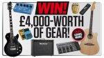 WIN! £4,000-worth of guitar gear @ Total Guitar
