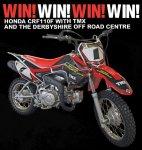 WIN! a Honda CRF110F @ Dirtbike Rider