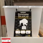 Smart Storemaster Box 65ltr Clear with Lid £8  @ B&Q down from £11