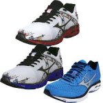 Mizuno Wave Inspire Mens & Womens Running Shoes size 8 White/Blue RRP £105, REDUCED TO £30 plus £3 P&P @ NEWITTS