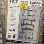 Metal Shelving Unit 1800 x 900 x 400 B&Q £20