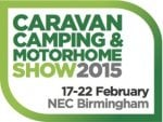 Win tickets to the Caravan, Camping & Motorhome Show 2015