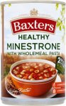 Baxters Healthy Minestrone w/ wholemeal pasta soup half price (57p) @ Waitrose, or 7p with Shopitize