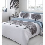 White printed 'Trees' bedding set by Ben De Lisi £13.50 @ Debenhams (70% off)