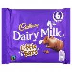 6 Cadbury Dairy Milk Little Bars (124g) 89p @ ASDA