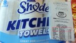 Asda Shade Kitchen Towels 8 rolls from £4 reduced to £1