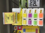 POST IT SMALL INDEX TABS now 50p was £4.10 @ Tesco