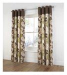 Curtains @ Tesco direct 66x54 £5.20 66x90 £3.40 in chocolate brown free C&C see instructions in description to find !