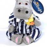 "Official Silentnight Original 6"" Hippo And Duck Beanie Soft Teddy Toy £3.00 @ ebay / thesilentnightstore"