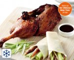 Half a Crispy Aromatic Duck with Pancakes only £3.99 at Aldi