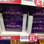 Milk tray £1 @ poundland