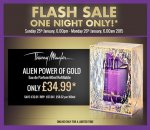 Thierry Mugler Alien Power of Gold Limited Edition EDP 60ml Refillable £34.99 Delivered, Till 6am Monday 26th @ The Perfume Shop