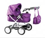 Silver Cross ranger dolls pram (damson) £18.41 @ Amazon