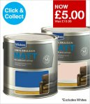 wickes own brand paint £5