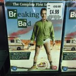 Breaking Bad Season 1 DVD only £4.99 in store at HMV