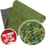 CC Grass: Artificial Turf Grass (1m x 4m) £29.99 @ Home Bargains